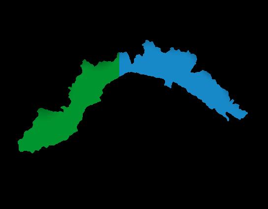 Cartina Geografica Riviera Ligure Di Ponente.Riviera Di Ponente