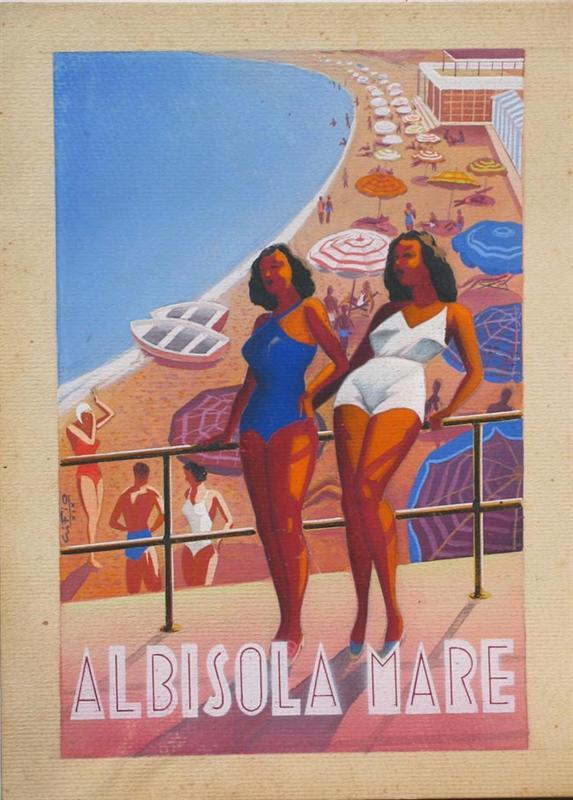Estremamente Mostra d'arte Gino Fiore Alassio IO31