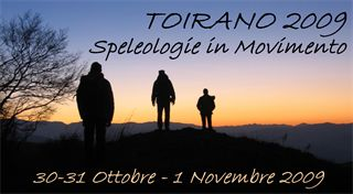 Logo Spleleogie in movimento Toirano 2009